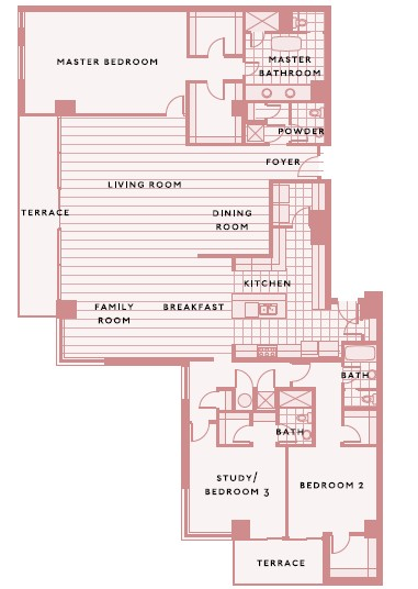 3,480 sq. ft. B floor plan