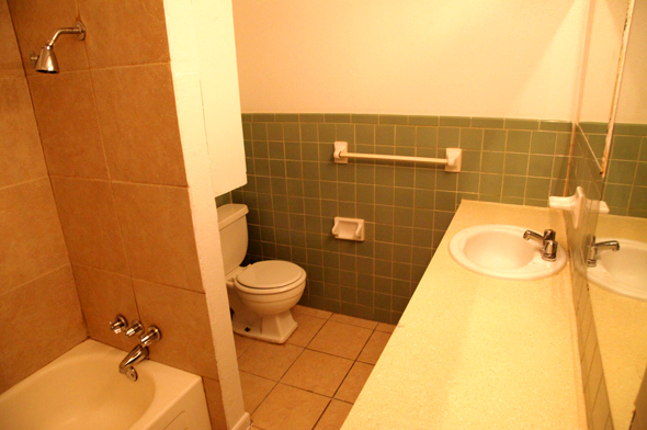 Bathroom at Listing #135676