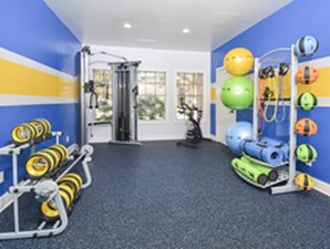 Fitness Center at Listing #140859