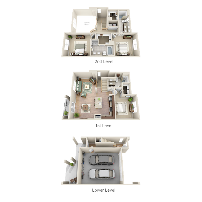 1,794 sq. ft. C1 floor plan