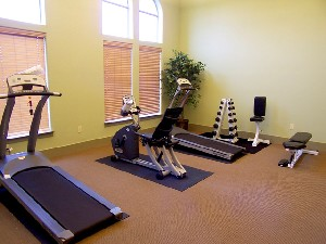 Fitness Center at Listing #144409