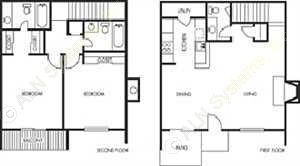 1,193 sq. ft. Kingbird floor plan