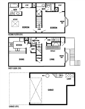 1,424 sq. ft. Dulce floor plan