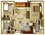 900 sq. ft. Legacy floor plan