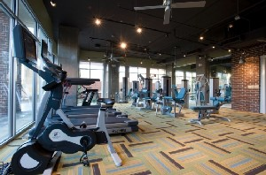 Fitness Center at Listing #147091