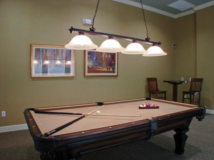 Gameroom at Listing #144662