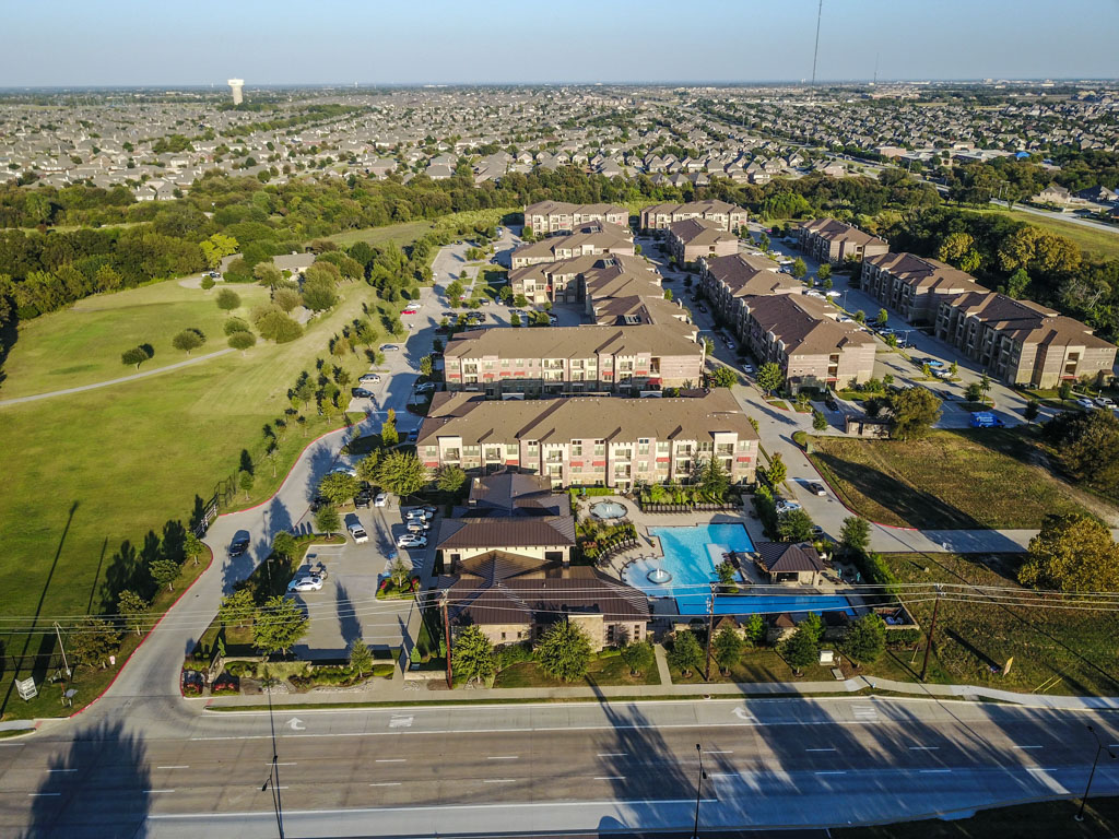 Aerial View at Listing #152221