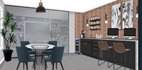 Clubhouse Rendering at Listing #138505