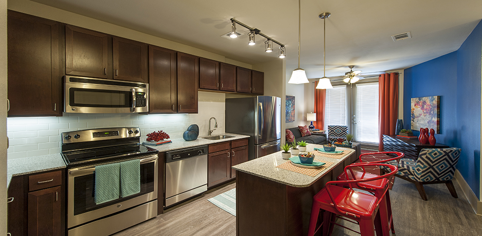 Living/Kitchen at Listing #247346