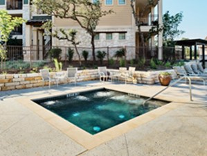 Hot Tub at Listing #150357