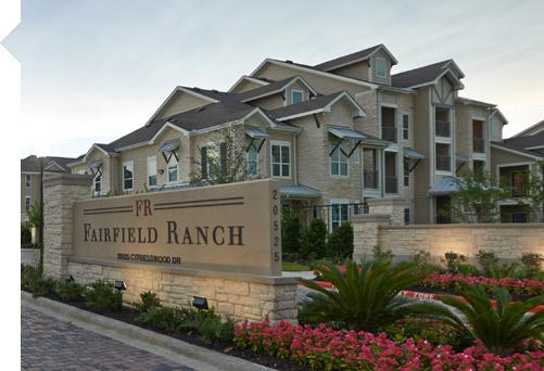 Fairfield Ranch Apartments Cypress TX