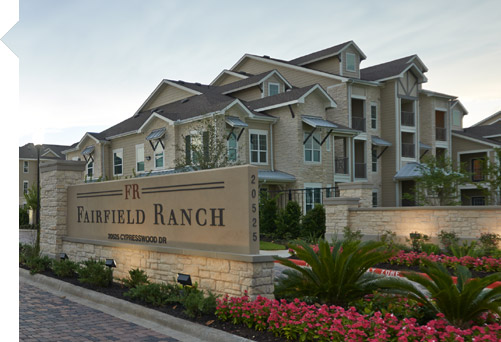 Fairfield Ranch Apartments Cypress TX