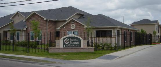 Scott Street Townhomes Apartments Houston, TX