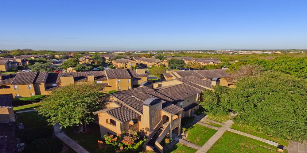 Aerial View at Listing #140961