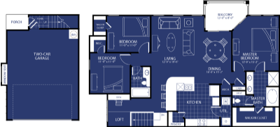1,578 sq. ft. Nebula floor plan