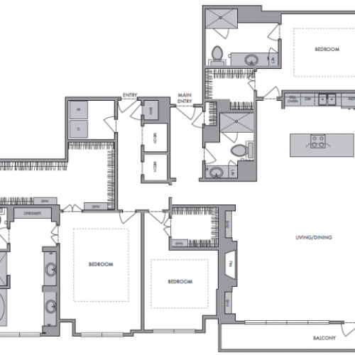 2,485 sq. ft. S floor plan