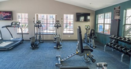 Fitness Center at Listing #135995