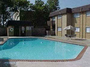 Pool Area at Listing #136252