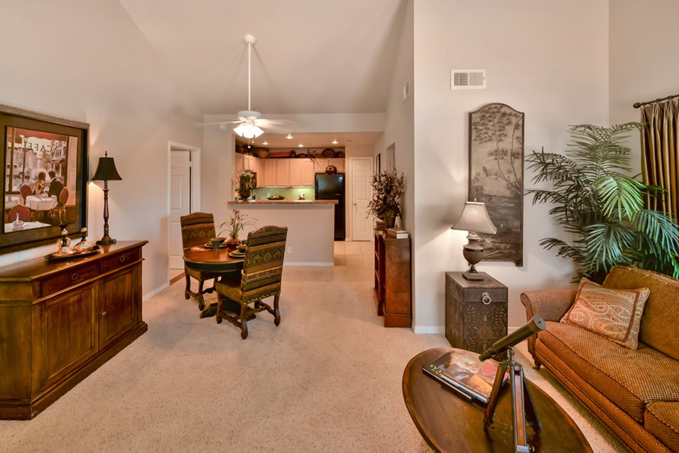 Living/Dining at Listing #136232