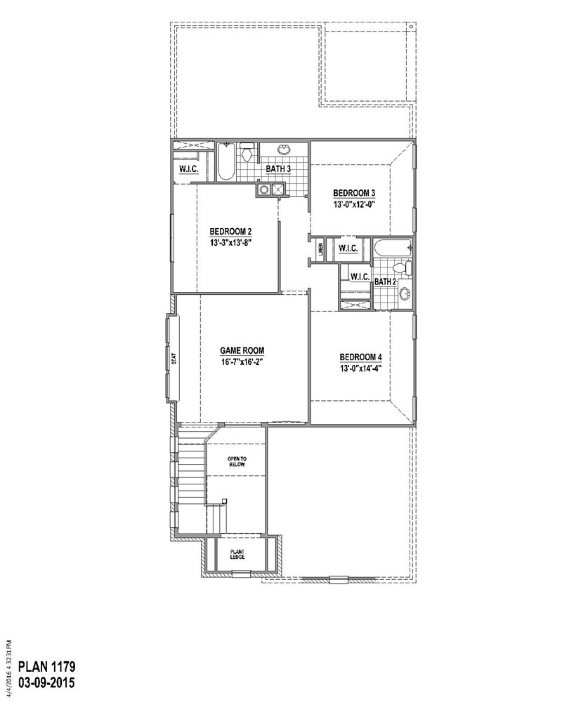 2,776 sq. ft. floor plan