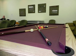 Gameroom at Listing #138212
