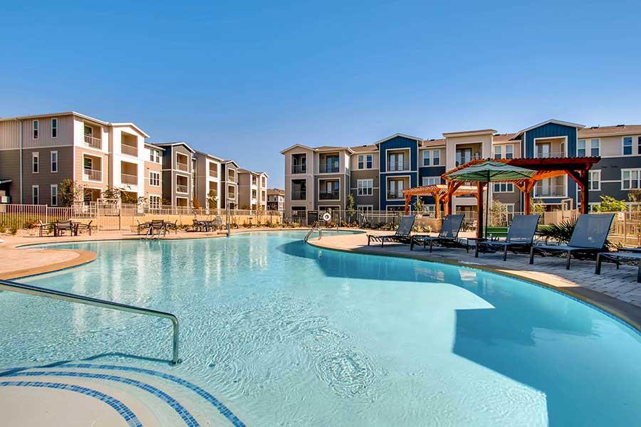 Pool at Listing #286838
