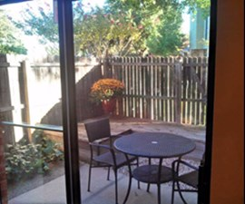 Patio at Listing #136777