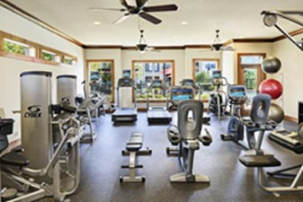 Fitness Center at Listing #153249