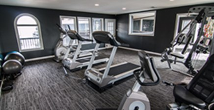 Fitness Center at Listing #140262
