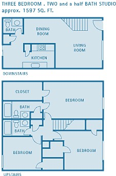 1,597 sq. ft. G floor plan