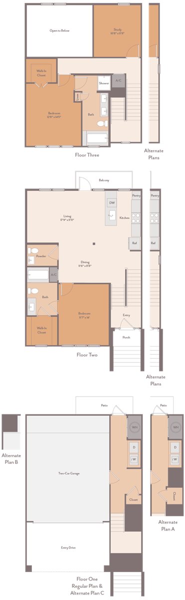 1,805 sq. ft. Tinsley-C1 floor plan