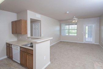 Living/Kitchen at Listing #144084