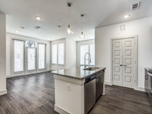 Living/Kitchen at Listing #330299