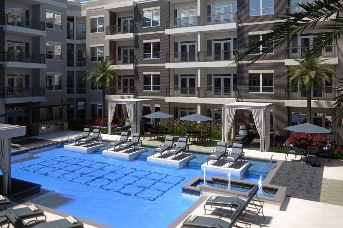 Pool at Listing #287221
