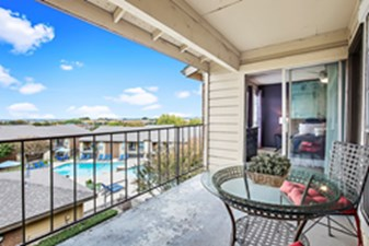 Balcony at Listing #136799