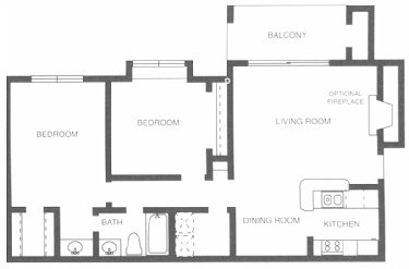 904 sq. ft. Tennessee Walker floor plan