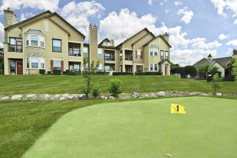Putting Green at Listing #137789