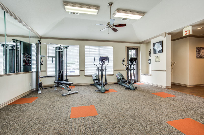 Fitness Center at Listing #137866