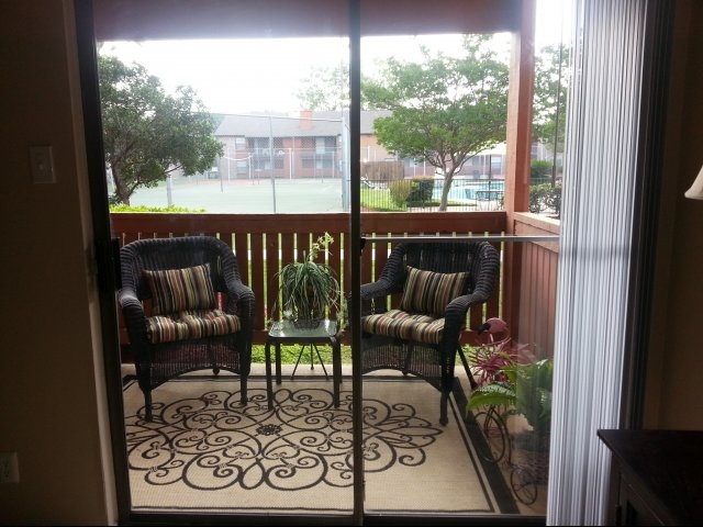 Patio at Listing #141358