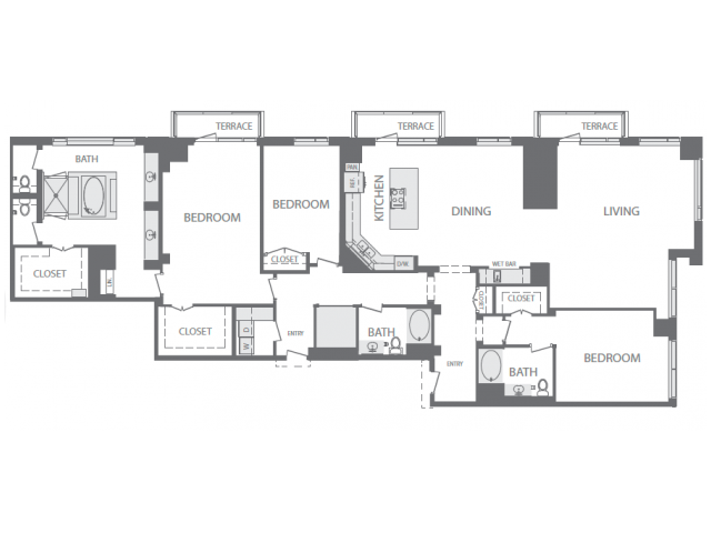 3,310 sq. ft. S floor plan