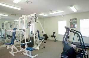 Fitness Center at Listing #137896