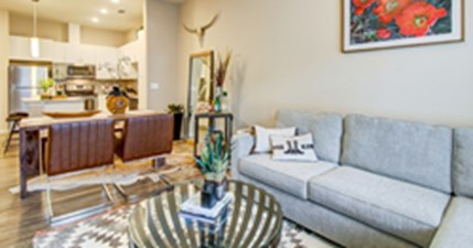 Living/Dining at Listing #153138