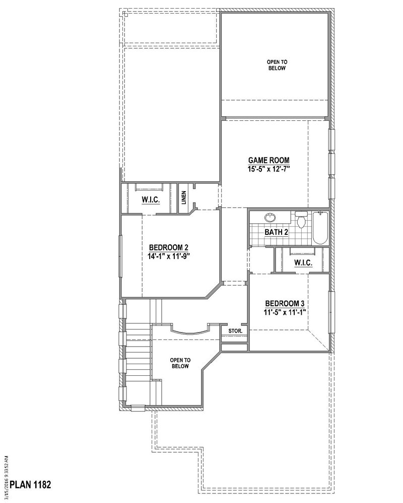 2,410 sq. ft. floor plan