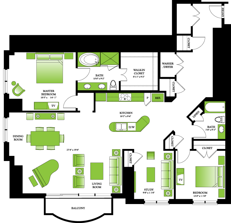 1,987 sq. ft. to 1,994 sq. ft. Dogwood floor plan