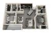 1,045 sq. ft. Sail floor plan