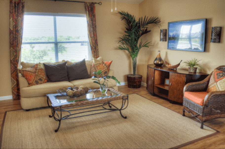 Living Room at Listing #147049