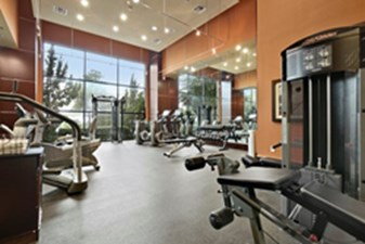 Fitness Center at Listing #145152