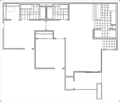 976 sq. ft. floor plan