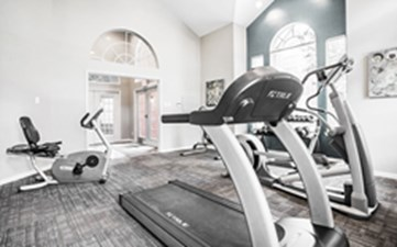 Fitness Center at Listing #138892