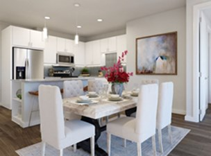 Dining/Kitchen at Listing #311206
